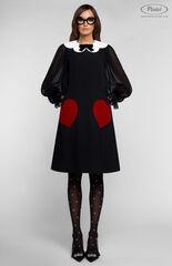Платье женское Pintel™ Платье А-силуэта из натуральной шерсти TIFFANY