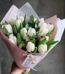 Магазин цветов VETKA-KVETKA Букет из тюльпанов
