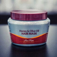 Уход за волосами Mon Platin Маска для волос на основе оливкового масла и меда,  500 мл