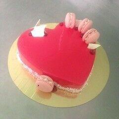 Торт Brioche Paris Торт №48 Вишня-пралине