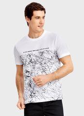Кофта, рубашка, футболка мужская O'stin Футболка с принтом MT1T24-92