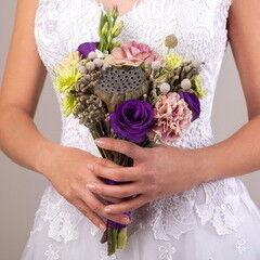 Магазин цветов Lia Свадебный букет №37