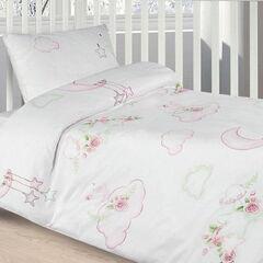 Подарок Ecotex Комплект постельного белья в детскую кроватку арт. 21