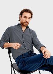 Кофта, рубашка, футболка мужская O'stin Рубашка в микропринт MS4T41-69