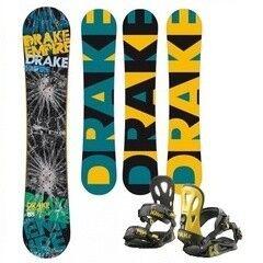 Сноубординг Drake Комплит:Сноуборд Drake Empire + Крепление Drake King yellow