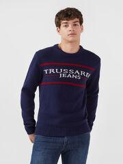 Кофта, рубашка, футболка мужская Trussardi Свитер мужской 52M00256-0F000425