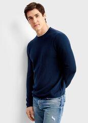 Кофта, рубашка, футболка мужская O'stin Джемпер с «обманкой» MK4T56-68