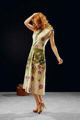 Белорусский дизайнер YANCHILINA Платье 1325