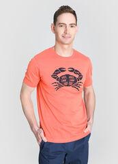 Кофта, рубашка, футболка мужская O'stin Футболка с морским принтом MT4W72-12
