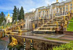 Туристическое агентство Сэвэн Трэвел Великолепный праздник закрытия фонтанов в Петергофе