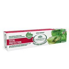 Уход за лицом L'Angelica Зубная паста для комплексной защиты полости рта с экстрактами алоэ и базилика 75 ml