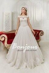 Свадебный салон Bonjour Свадебное платье «Floksi» из коллекции L'ECLAT 2016