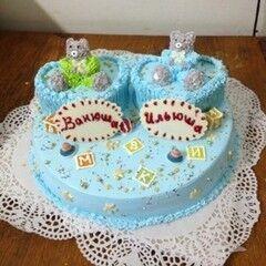 Торт МЕГАТОРТ Торт «Ванюша & Ильюша»