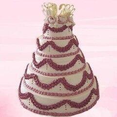 Торт Милано Свадебный торт №11