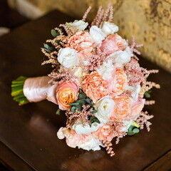 Магазин цветов Lia Свадебный букет №24