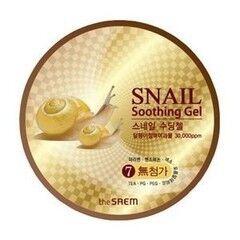Уход за лицом The Saem Гель с улиточным экстрактом Snail Soothing Gel
