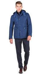 Верхняя одежда мужская HISTORIA Куртка утепленная светло-синяя с капюшоном WJ.Bll.Cri002