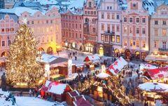 Горящий тур Отдых и Туризм Автобусный тур «Новогодние огни Праги» (Прага – Дрезден – Чешский Крумлов, 6 дней)