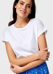 Кофта, блузка, футболка женская O'stin Базовая футболка из хлопка женская LT6U81-00