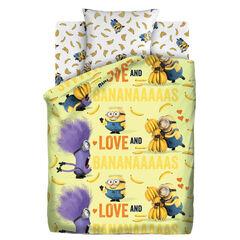 Подарок Унисон Детское постельное бельё Миньоны Бананас