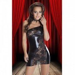 Интим-магазин Extaz Интригующее черное платье Sila