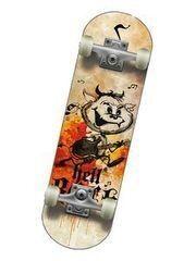 Скейтборд Спортивная коллекция Скейтборд Mini-Board Hellboy Jr