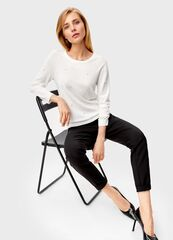 Кофта, блузка, футболка женская O'stin Джемпер с жемчугом LK6T32-00