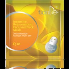 Уход за лицом tianDe Омолаживающая маска для лица и шеи «Коэнзим Q 10» Pro-Comfort