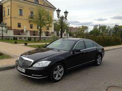 Прокат авто Прокат авто с водителем, Mercedes-Benz S-class W221 long чёрный