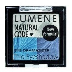 Декоративная косметика LUMENE Тени для век тройные Natural Code, оттенок 3