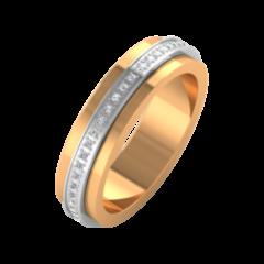Ювелирный салон ZORKA Обручальное кольцо 1D5064/3B