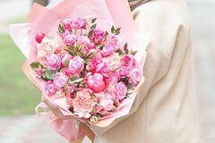 Магазин цветов Цветы на Киселева Букет «Розовое облако»