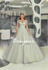 Свадебное платье напрокат Bonjour Платье свадебное «Ivet» из коллекции LAMBRE 2017