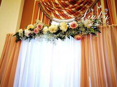 Магазин цветов Lia Композиция-гирлянда на драпировку ширмы
