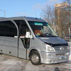 Прокат авто Прокат авто с водителем, Mercedes-Benz Sprinter Silver VIP-19 Touristik