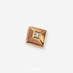 Ювелирный салон Белорусские Бриллианты Подвеска из золота со вставкой бриллиант синт. 41010049