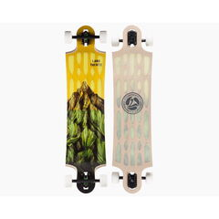 Скейтборд Landyachtz Лонгборд Hollowtech Switchblade 40 Mountains Yellow