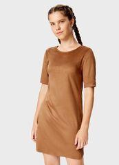 Платье женское O'stin Платье из искусственной замши LT5T4E-T2