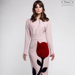 Платье женское Pintel™ Приталенное платье из натуральной шерсти Akeelia