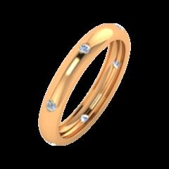 Ювелирный салон ZORKA Обручальное кольцо 153048/1