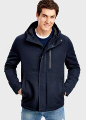Верхняя одежда мужская O'stin Утеплённая куртка с капюшоном MJ6T5A-69