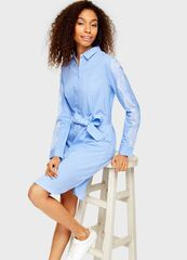 Платье женское O'stin Платье-рубашка в полоску LR4U52-60