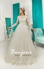 Свадебное платье напрокат А-силуэт Bonjour Платье свадебное «Tori» из коллекции L'ECLAT 2016