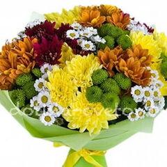 Магазин цветов Долина цветов Букет «Осень в золоте»