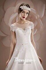 Свадебное платье напрокат А-силуэт Bonjour Galerie Платье свадебное «Joanna» из коллекции ALLEGRESSE