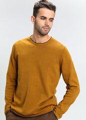 Кофта, рубашка, футболка мужская O'stin Джемпер мужской с круглым вырезом MK6V71-Y4