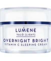 Уход за лицом LUMENE Восстанавливающий крем-сон с витамином С Valo Overnight Bright Sleeping Cream
