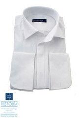 Кофта, рубашка, футболка мужская HISTORIA Рубашка белая под запонки