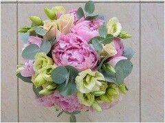 Магазин цветов LION Свадебный букет «Пинк мелоди»