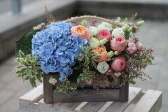 Магазин цветов Cvetok.by Композиция «Аврора»